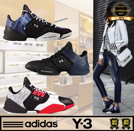 Unisex Street Style Collaboration Plain Low-Top Sneakers