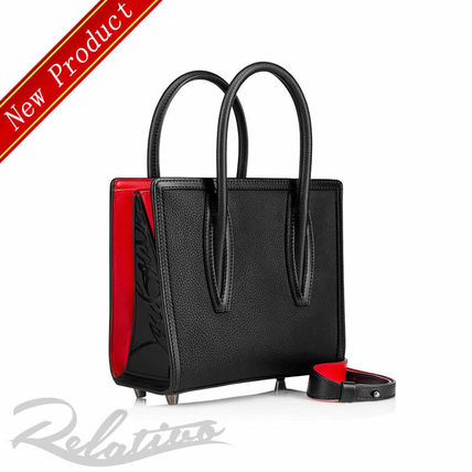 Calfskin 2WAY Elegant Style Handbags