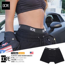 DOPE couture Unisex Street Style Cotton Logo Trunks & Boxers