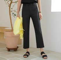 Plain Cropped & Capris Pants