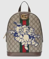 GUCCI Unisex Backpacks