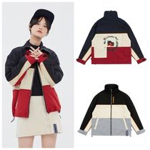ROMANTIC CROWN Casual Style Unisex Street Style Medium Oversized Outerwear