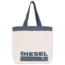 DIESEL Casual Style Street Style A4 Totes
