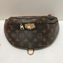 Louis Vuitton MONOGRAM Monogram Unisex Canvas Crossbody Bag Belt Bags
