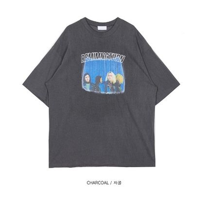 OPEN THE DOOR More T-Shirts Unisex Street Style Cotton Oversized T-Shirts 12