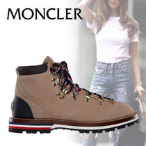 MONCLER Rubber Sole Casual Style Street Style Plain Low-Top Sneakers