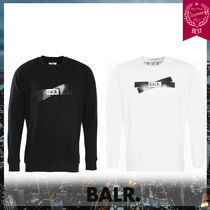 BALR Crew Neck Long Sleeves Cotton Knits & Sweaters