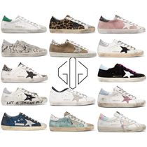 Golden Goose Rubber Sole Casual Style Tie-dye Python Low-Top Sneakers