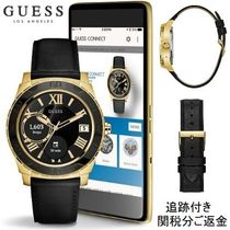Guess Unisex Blended Fabrics Street Style Digital Watches