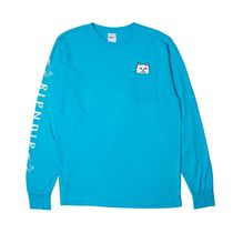 RIPNDIP Crew Neck Unisex Street Style Long Sleeves Oversized