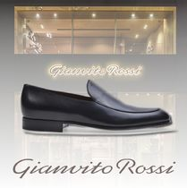 Gianvito Rossi Loafers Plain Leather U Tips Loafers & Slip-ons