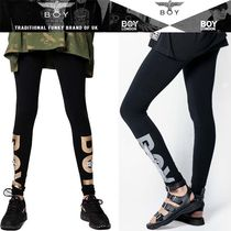 BOY LONDON Casual Style Blended Fabrics Street Style Cotton Long