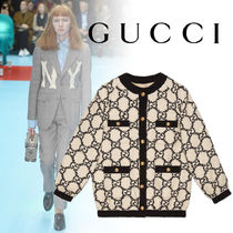 GUCCI Tweed Oversized Jackets