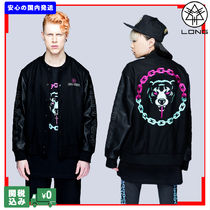 LONG CLOTHING Unisex Wool Street Style Collaboration Other Animal Patterns