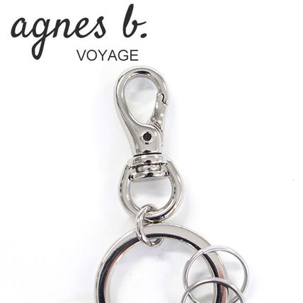 Agnes b Keychains & Holders Keychains & Holders 3