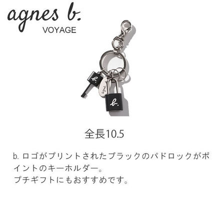Agnes b Keychains & Holders Keychains & Holders 4