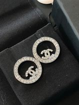 CHANEL Costume Jewelry Special Edition Elegant Style Earrings