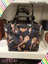 kate spade new york Flower Patterns Nylon 2WAY Handbags