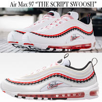 Nike AIR MAX 97 Blended Fabrics Street Style Collaboration Sneakers
