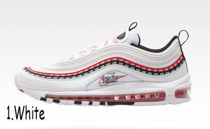Nike AIR MAX 97 Blended Fabrics Street Style Collaboration Leather
