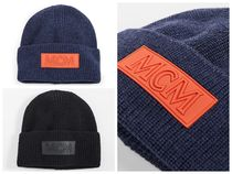 MCM Unisex Street Style Knit Hats
