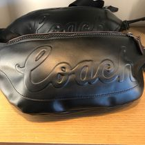 Coach Leather Logo Bags