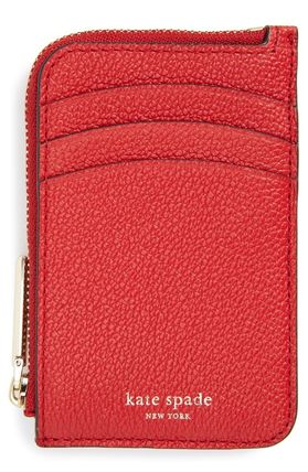 Kate Spade New York Polly Leather Card Holder Is Now 50 Off Free Shipping On Orders Over 89