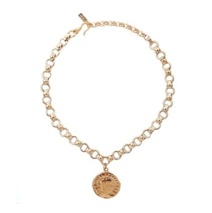 Casual Style Coin Silver Necklaces & Pendants