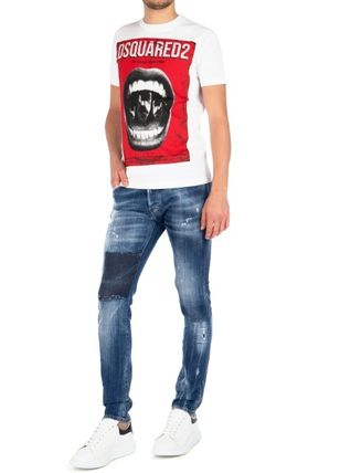 D SQUARED2 More T-Shirts Street Style Cotton Luxury T-Shirts 2