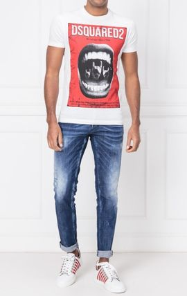 D SQUARED2 More T-Shirts Street Style Cotton Luxury T-Shirts 3