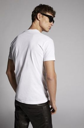D SQUARED2 More T-Shirts Street Style Cotton Luxury T-Shirts 5