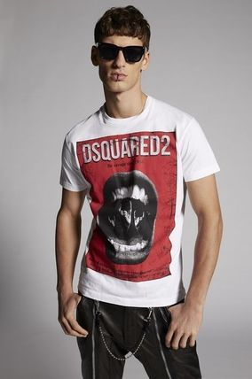 D SQUARED2 More T-Shirts Street Style Cotton Luxury T-Shirts 6