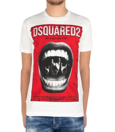 D SQUARED2 More T-Shirts Street Style Cotton Luxury T-Shirts 9