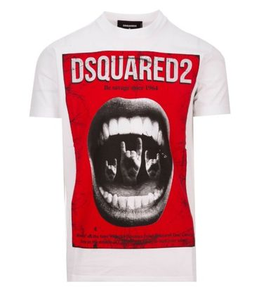 D SQUARED2 More T-Shirts Street Style Cotton Luxury T-Shirts 12