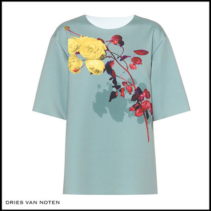 Flower Patterns Medium Short Sleeves T-Shirts