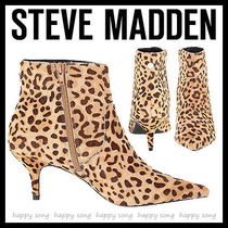 Steve Madden Leopard Patterns Spawn Skin Pin Heels Elegant Style