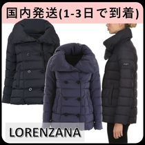 TATRAS LORENZANA Short Plain Logo Down Jackets