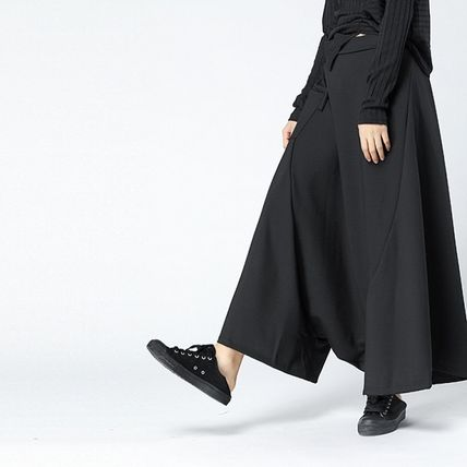 Casual Style Street Style Plain Cotton Long Oversized Tired