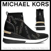 Michael Kors Platform Round Toe Casual Style Street Style