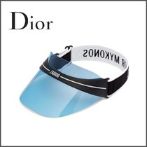 Christian Dior Unisex Street Style Hats & Hair Accessories
