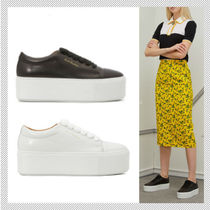Acne Rubber Sole Casual Style Plain Low-Top Sneakers