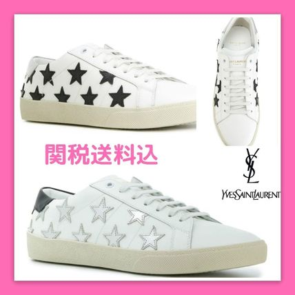 Star Unisex Leather Low-Top Sneakers