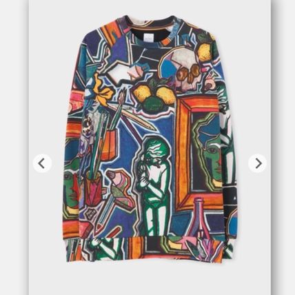 Paul Smith Sweatshirts Crew Neck Skull Stripes Long Sleeves Sweatshirts 2