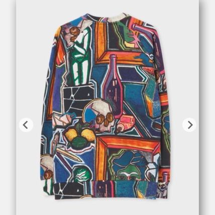 Paul Smith Sweatshirts Crew Neck Skull Stripes Long Sleeves Sweatshirts 4