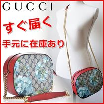 GUCCI Flower Patterns Monogram Casual Style Blended Fabrics 2WAY