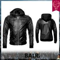 BALR Leather Biker Jackets