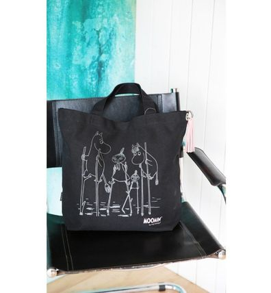 Casual Style Canvas A4 Other Animal Patterns Totes