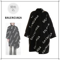 BALENCIAGA Faux Fur Long Coats