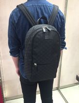 GUCCI Unisex Nylon Blended Fabrics Street Style Backpacks