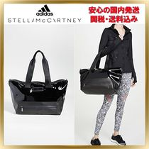 adidas by Stella McCartney Casual Style Faux Fur 2WAY Plain Totes